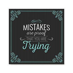 Ezposterprints - Mistakes are Proof That You are Trying