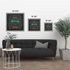 Ezposterprints - The Time You Enjoy Wasting Is Not Time Wasted ambiance display photo sample