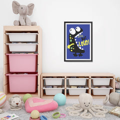 Ezposterprints - Little But Loud | The Cute Little Monsters Posters - 16x24 ambiance display photo sample