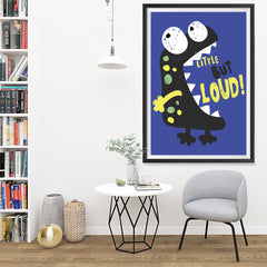 Ezposterprints - Little But Loud | The Cute Little Monsters Posters - 32x48 ambiance display photo sample