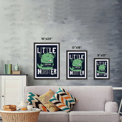 Ezposterprints - Little Awesome Monster | The Cute Little Monsters Posters ambiance display photo sample