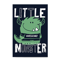 Ezposterprints - Little Awesome Monster | The Cute Little Monsters Posters