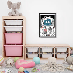 Ezposterprints - We Are Not Alone | The Cute Little Monsters Posters - 16x24 ambiance display photo sample
