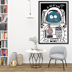 Ezposterprints - We Are Not Alone | The Cute Little Monsters Posters - 32x48 ambiance display photo sample