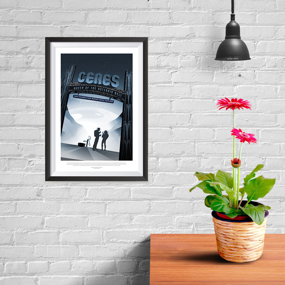 Ezposterprints - Ceres - Queen Of The Astreoid Belt - 08x12 ambiance display photo sample