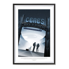 Ezposterprints - Ceres - Queen Of The Astreoid Belt ambiance display photo sample