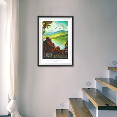 Ezposterprints - Earth - Your Oasis In Space Where The Air Is Free and Breathing Is Easy - 16x24 ambiance display photo sample