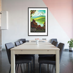 Ezposterprints - Earth - Your Oasis In Space Where The Air Is Free and Breathing Is Easy - 32x48 ambiance display photo sample