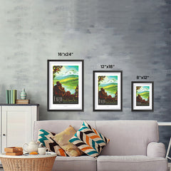Ezposterprints - Earth - Your Oasis In Space Where The Air Is Free and Breathing Is Easy ambiance display photo sample