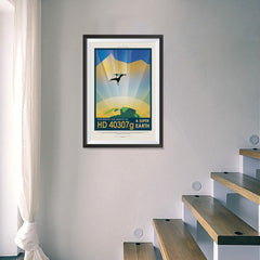 Ezposterprints - HD 40307 G - Experience The Gravity of a Super Earth - 16x24 ambiance display photo sample