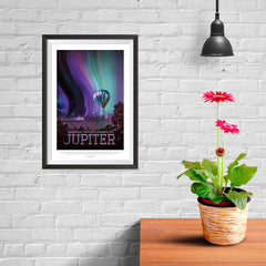 Ezposterprints - Jupiter - Experience The Mighty Auroras - 08x12 ambiance display photo sample