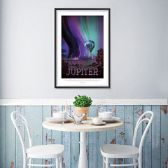 Ezposterprints - Jupiter - Experience The Mighty Auroras - 12x18 ambiance display photo sample