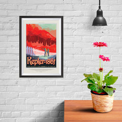 Ezposterprints - Kepler-186f -Where the Grass is Always Redder On The Other Side - 08x12 ambiance display photo sample