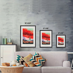 Ezposterprints - Kepler-186f -Where the Grass is Always Redder On The Other Side ambiance display photo sample