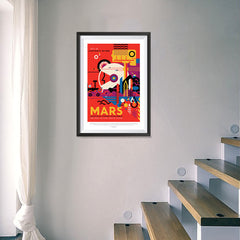 Ezposterprints - Mars - Visit The Historic Sites - Multiple Tours Available - 16x24 ambiance display photo sample