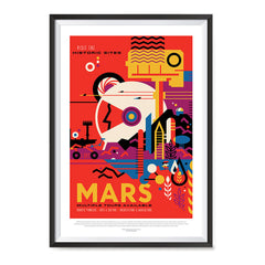 Ezposterprints - Mars - Visit The Historic Sites - Multiple Tours Available ambiance display photo sample