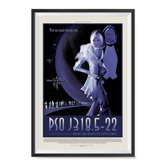 Ezposterprints - PSO J318.5-22 - The Planet With No Star Where the Nightlife Never Ends ambiance display photo sample
