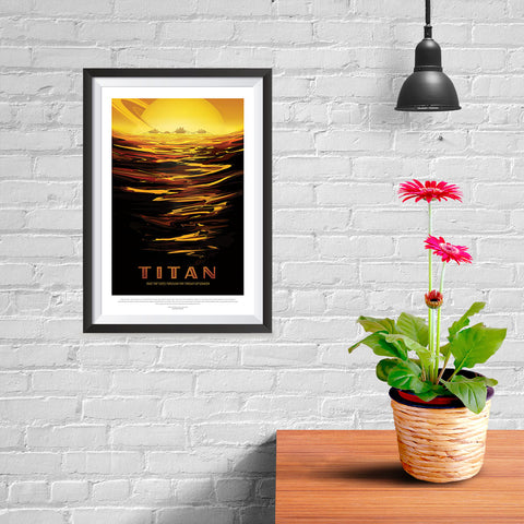 Ezposterprints - Titan - Ride The Tides Through The Throat Of Kraken - 08x12 ambiance display photo sample