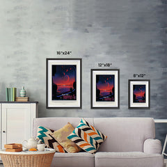 Ezposterprints - Planet hop from Trappist-1e Voted Best Hab Zone Vacation ambiance display photo sample
