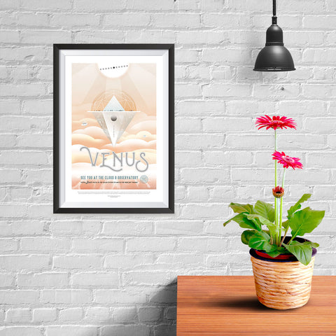 Ezposterprints - Venus - See You At The Cloud 9 Observatory - 08x12 ambiance display photo sample