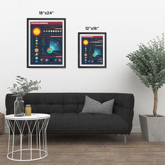 Ezposterprints - Outer Space Infographics ambiance display photo sample