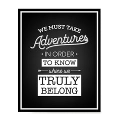 Ezposterprints - We Must Take Adventures