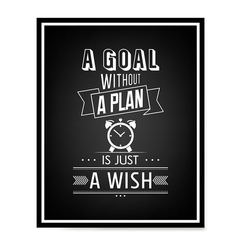 Ezposterprints - A Goal Without a Plan