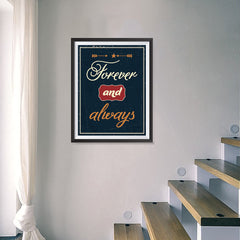 Ezposterprints - Foreever and Always - 18x24 ambiance display photo sample