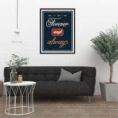 Ezposterprints - Foreever and Always - 24x32 ambiance display photo sample
