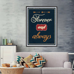 Ezposterprints - Foreever and Always - 36x48 ambiance display photo sample