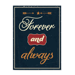 Ezposterprints - Foreever and Always