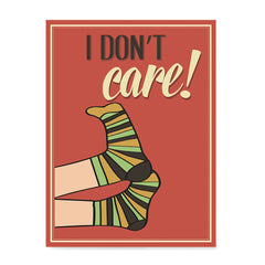Ezposterprints - I Don't Care!