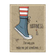 Ezposterprints - Happiness is The Way