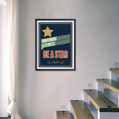 Ezposterprints - Don't Forget To Be A Star - 18x24 ambiance display photo sample