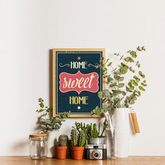Ezposterprints - Home Sweet Home - 12x16 ambiance display photo sample