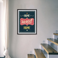 Ezposterprints - Home Sweet Home - 18x24 ambiance display photo sample