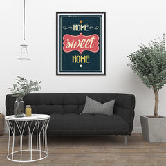 Ezposterprints - Home Sweet Home - 24x32 ambiance display photo sample