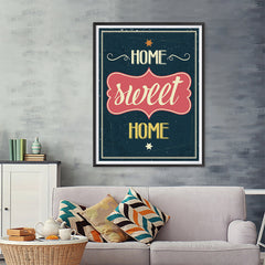 Ezposterprints - Home Sweet Home - 36x48 ambiance display photo sample