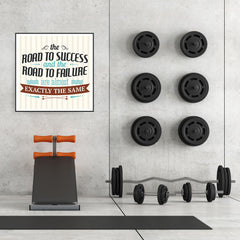 Ezposterprints - The Road To Success And The Road To Failure Are Almost Exactly The Same - 32x32 ambiance display photo sample