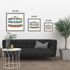 Ezposterprints - The Road To Success And The Road To Failure Are Almost Exactly The Same ambiance display photo sample