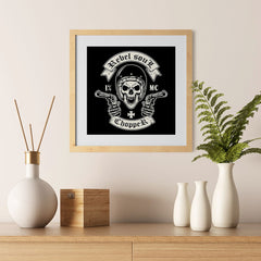Ezposterprints - Rebel Soul Skull Riders - 12x12 ambiance display photo sample