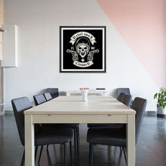 Ezposterprints - Rebel Soul Skull Riders - 32x32 ambiance display photo sample