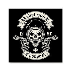 Ezposterprints - Rebel Soul Skull Riders