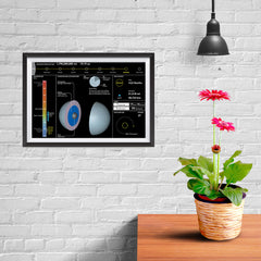 Ezposterprints - Planet Uranus - 12x08 ambiance display photo sample