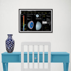 Ezposterprints - Planet Uranus - 18x12 ambiance display photo sample