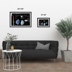 Ezposterprints - Planet Uranus ambiance display photo sample