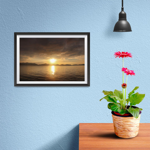 Ezposterprints - Evening Light - 12x08 ambiance display photo sample