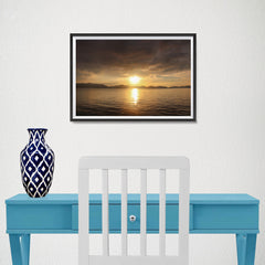 Ezposterprints - Evening Light - 18x12 ambiance display photo sample