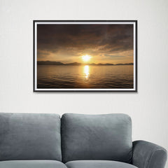 Ezposterprints - Evening Light - 24x16 ambiance display photo sample