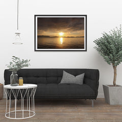 Ezposterprints - Evening Light - 36x24 ambiance display photo sample